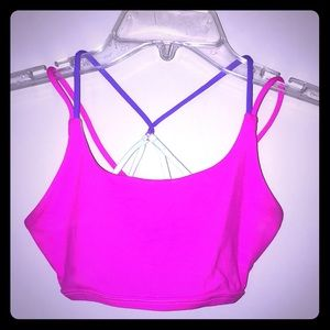 Ivivva strappy girls work out top